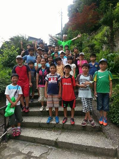 のりさんsummer camp in 尾花沢