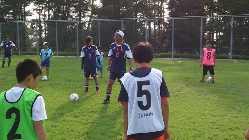 のりさんキャンプ サッカー