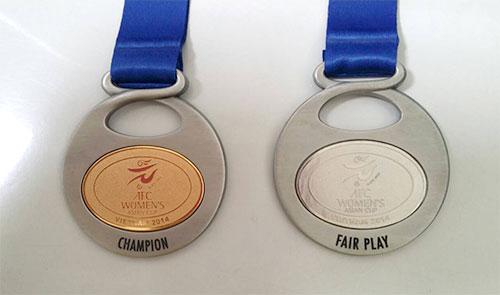 AFC女子アジアカップ金メダル
