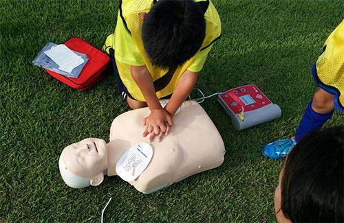 AED実地体験