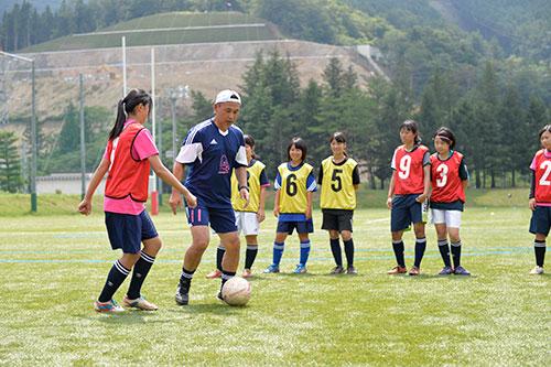 釜石大槌サッカークリニック