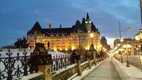 カナダのホテル