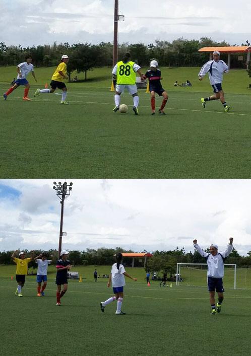 鹿児島サッカークリニック