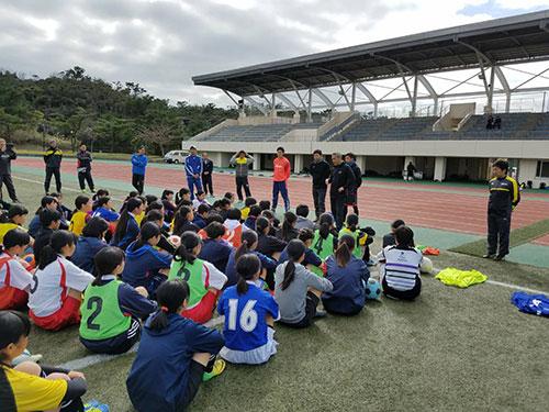 沖縄サッカークリニック