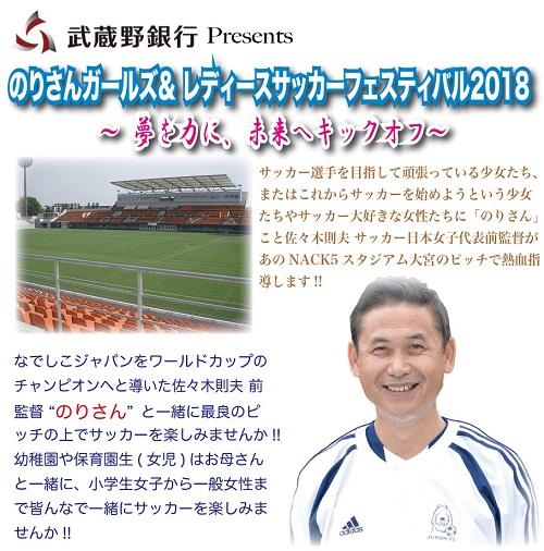 のりさんG&Lサッカーフェスティバル