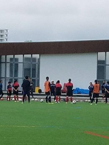 沖縄県女子高校サッカークリニック